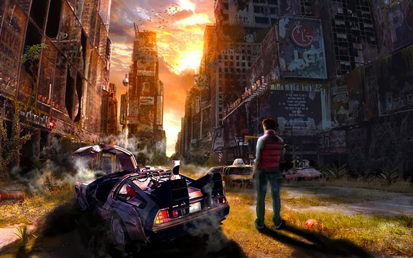 in Stunning Post Apocalypse Artworks