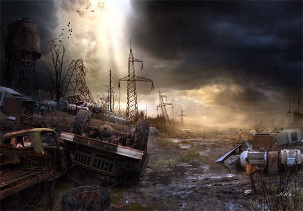 Dump in Stunning Post Apocalypse Artworks