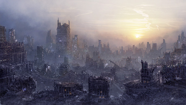 Environment: Post Apocalypse in Stunning Post Apocalypse Artworks