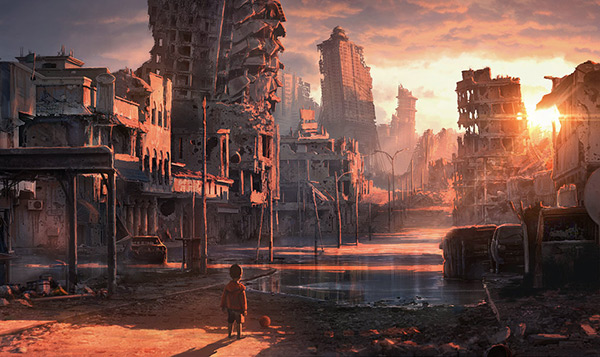 Forsaken in Stunning Post Apocalypse Artworks