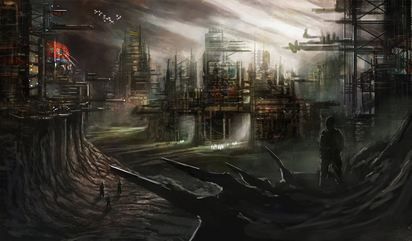 Industrial Apocalypse in Stunning Post Apocalypse Artworks
