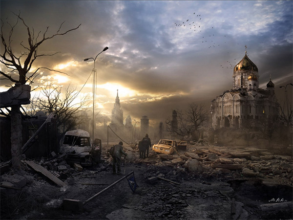 Last Hope in Stunning Post Apocalypse Artworks