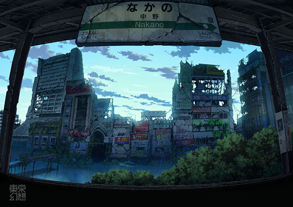 Nakano in Stunning Post Apocalypse Artworks