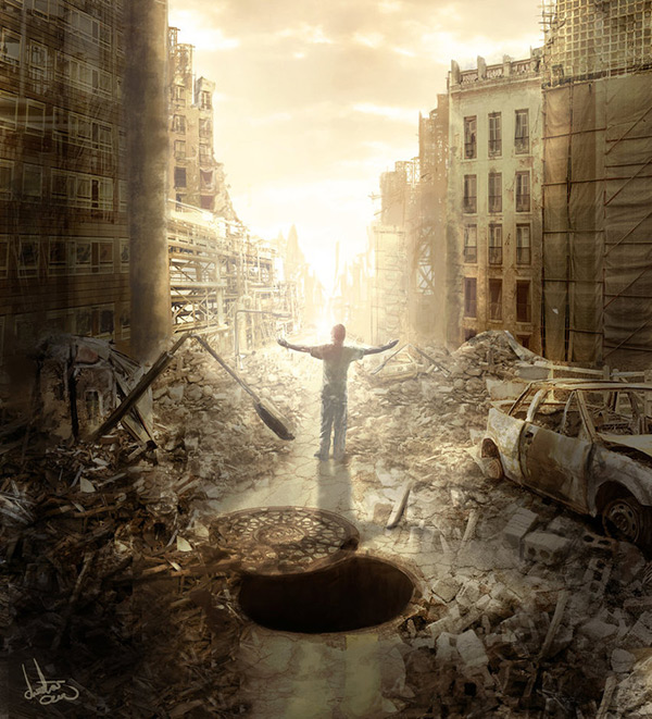 New Beginning in Stunning Post Apocalypse Artworks
