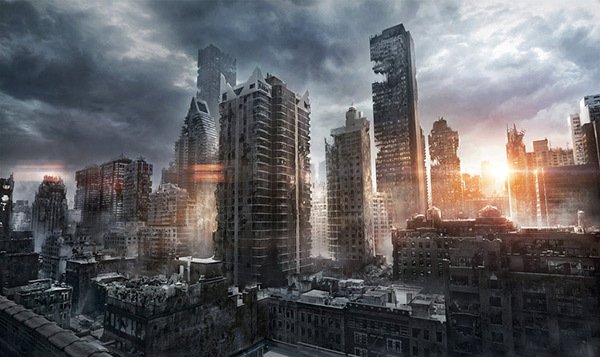 New York Ruins in Stunning Post Apocalypse Artworks