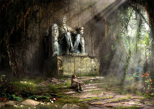 Nothing is Eternal in Stunning Post Apocalypse Artworks
