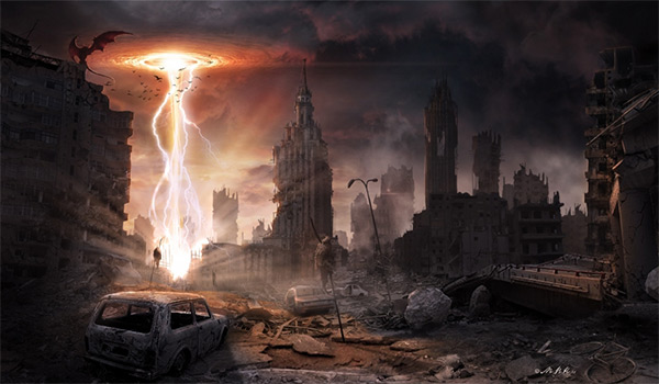 Portal in Stunning Post Apocalypse Artworks