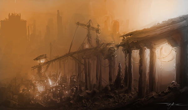 Post-Apocalyptic_Friday in Stunning Post Apocalypse Artworks