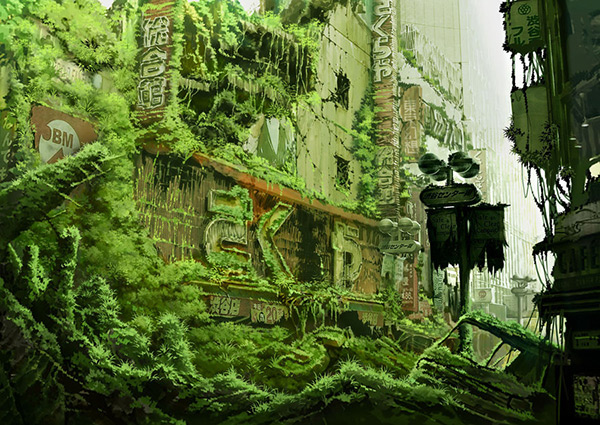 Sakuraya 2 in Stunning Post Apocalypse Artworks
