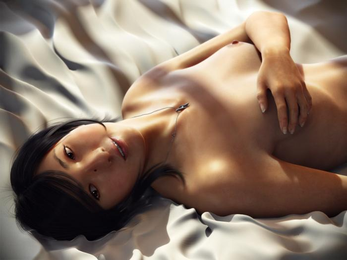 Naked Girl in The Most Beautiful CG Girls 2
