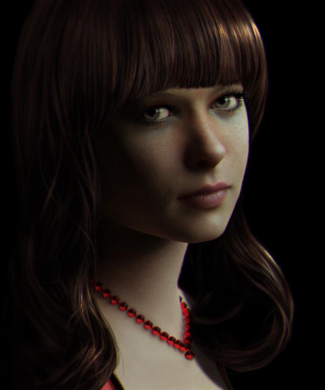 Natasha in The Most Beautiful CG Girls 2