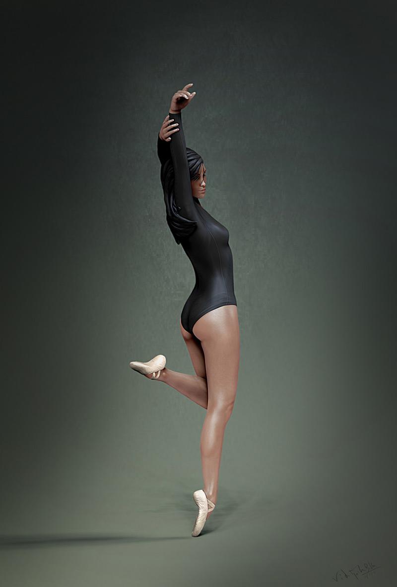 ballet dance, vikhyath billa in The Most Beautiful CG Girls 2