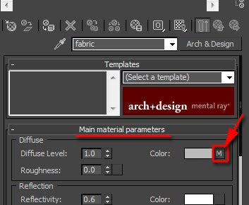"""Creating a """"Velvet/Suede"""" finish with V-Ray or mental ray - 3DM3 com"""