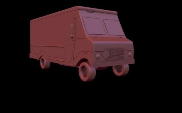 "Tutorial ""Model a Delivery Truck in Cinema 4D"""